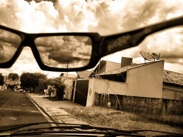 Sky Art Print featuring the photograph Invisible Man by Beto Machado
