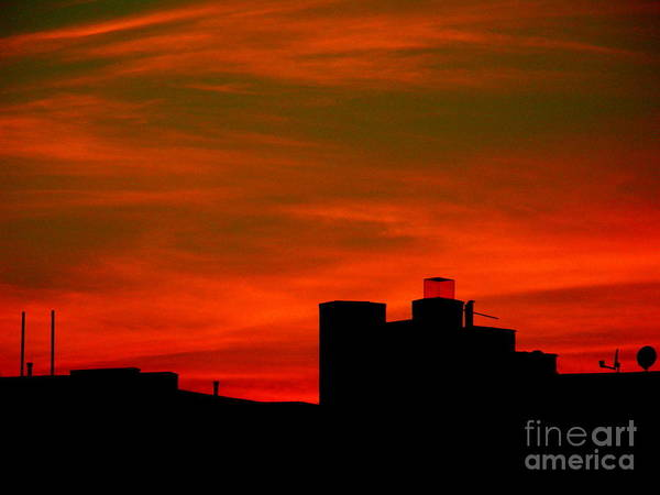 Sunset Art Print featuring the photograph June 2 2009 by Mark Gilman