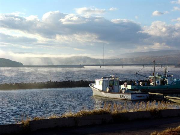Margaree Harbour Art Print featuring the photograph Margaree Harbour by George Cousins