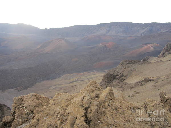 Haleakala Art Print featuring the photograph Mars On Maui by Terry Hunt