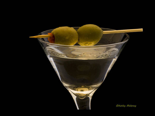 Martini Art Print featuring the photograph Martini by Kathy Maloney