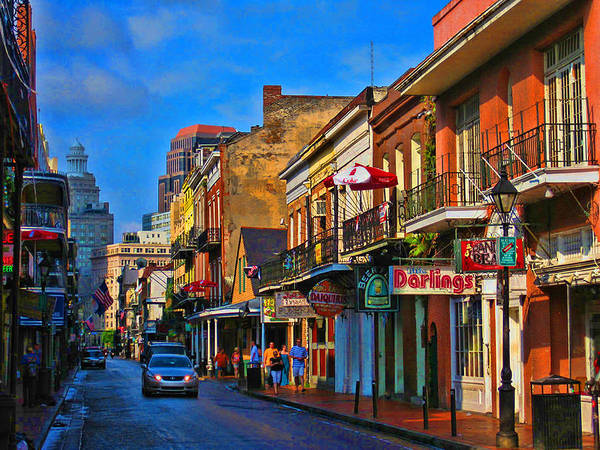 New Orleans Art Print featuring the photograph New Orleans Street Scene by Terry Sita