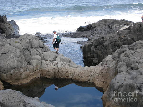Pools Art Print featuring the photograph O'heo Pools by Terry Hunt