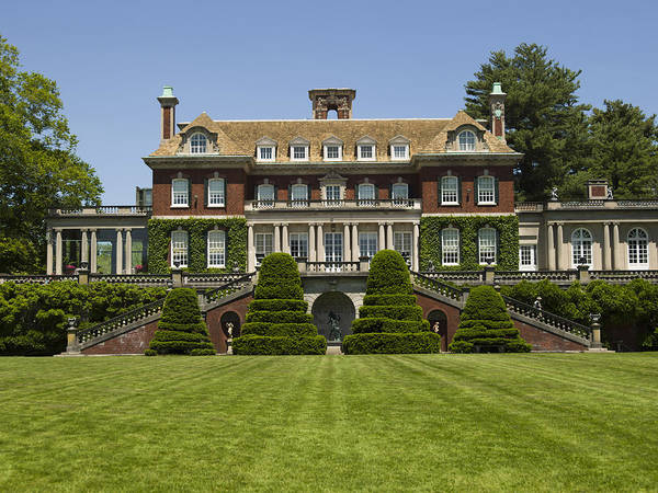 Mansion Art Print featuring the photograph Old Westbury Mansion by Bob Retnauer