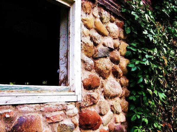Art Print featuring the photograph Part Of Old Barn by Kim Pettingill Sundeen