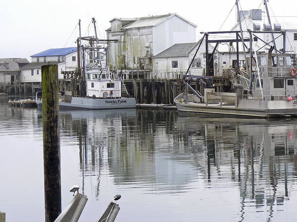 Fishing Art Print featuring the photograph Port Of Nahcotta by Pamela Patch