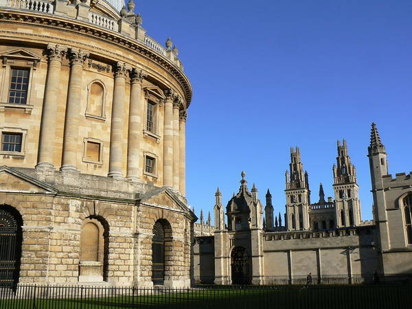 Radcliffe Art Print featuring the photograph Radcliffe Camera by Alan Pillant