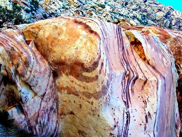 Red Rock Canyon Art Print featuring the photograph Red Rock Canyon 47 by Randall Weidner