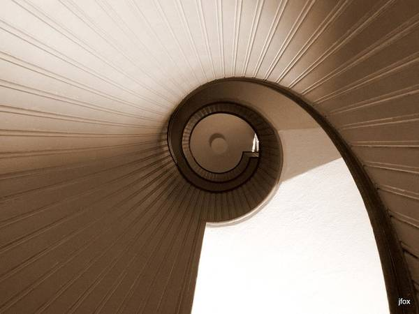 Sepia Art Print featuring the photograph Sepia Vortex by Jimmy Fox