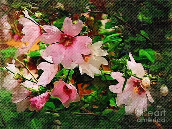 Blossoms Art Print featuring the photograph Spring Is In Blossom by Marion Headrick