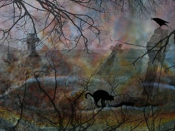 Halloween Art Print featuring the photograph Still In There by Shirley Sirois