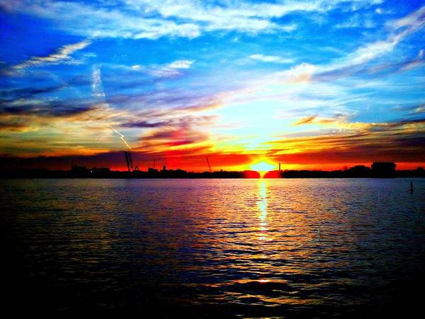 Port Huron Art Print featuring the photograph The Front by Zane Chowdhery