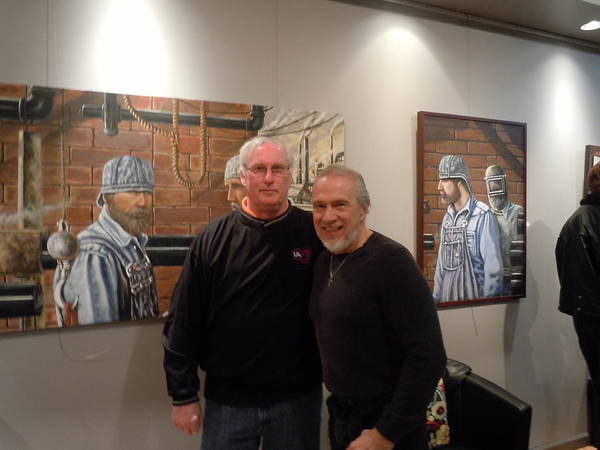 Photos Of People Art Print featuring the painting Thirty Years Later by James Guentner