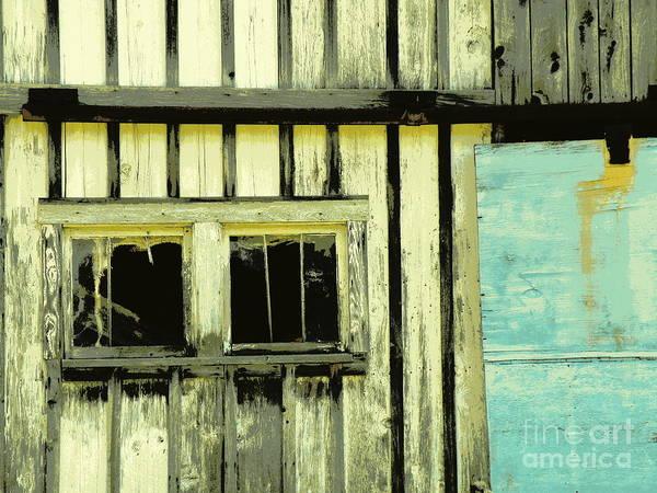 Barn Art Print featuring the photograph Touch Of Blue by Joe Jake Pratt