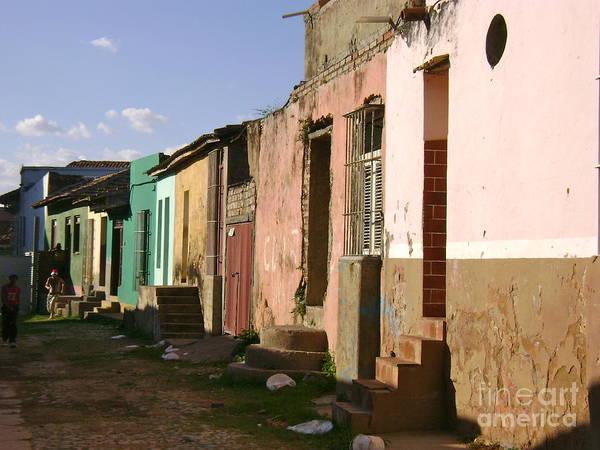 Street Scene Art Print featuring the photograph Trinidad Cuba by Laurel Fredericks