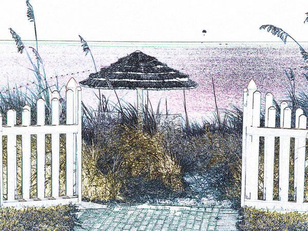 Beach Art Print featuring the photograph Turks 33 by Allan Rothman