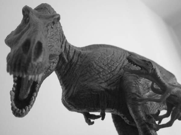 Statue Art Print featuring the photograph Tyrannosaurus Rex by Guy Ricketts