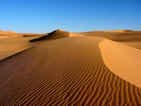 Horizontal Art Print featuring the photograph Ubari Sand Sea, Libyan Sahara by Joe & Clair Carnegie / Libyan Soup