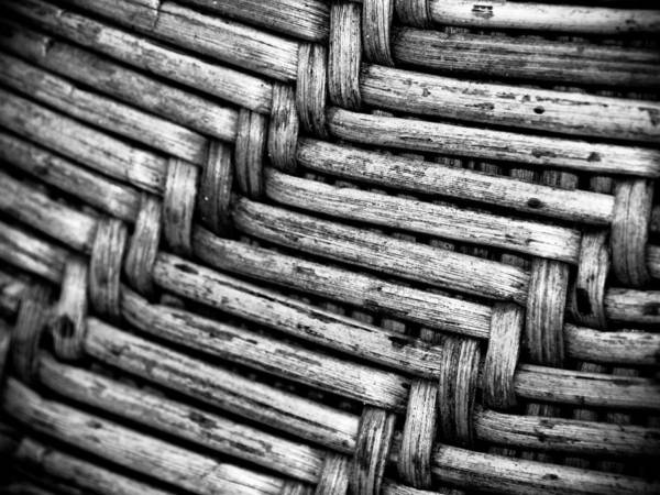Straw Hat Art Print featuring the photograph Weave by Charles Canturias