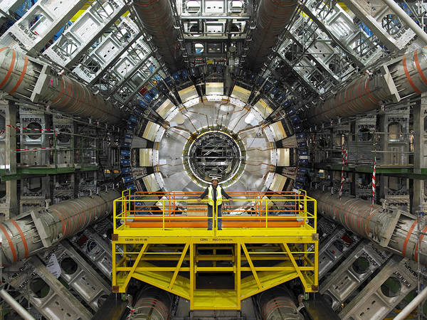 Atlas Art Print featuring the photograph Atlas Detector, Cern by David Parker