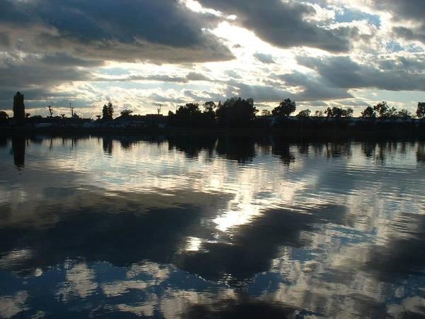 Sky Art Print featuring the photograph Reflection by Jennifer Ott