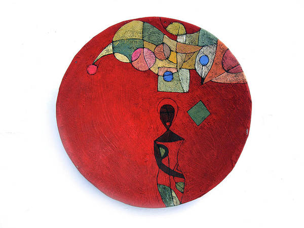 Painted Bowls Art Print featuring the painting No Turning Back by Ronex Ahimbisibwe
