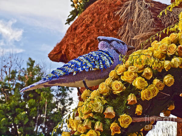 2016 Art Print featuring the photograph 2016rose Parade Rp005 by Howard Stapleton