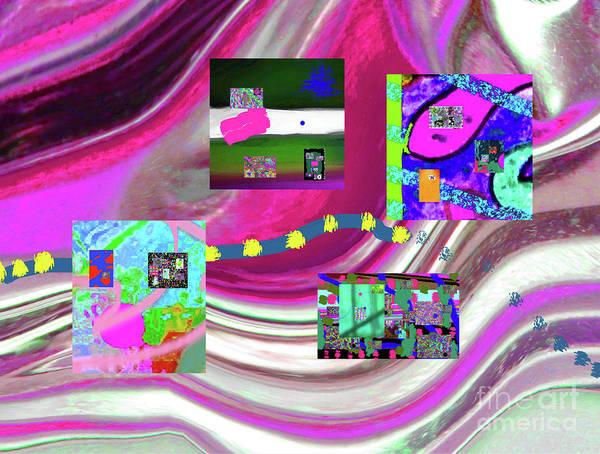 Walter Paul Bebirian Art Print featuring the digital art 5-3-2015eabcdefghijklmnopqrtuvwxyzabcdefghijkl by Walter Paul Bebirian