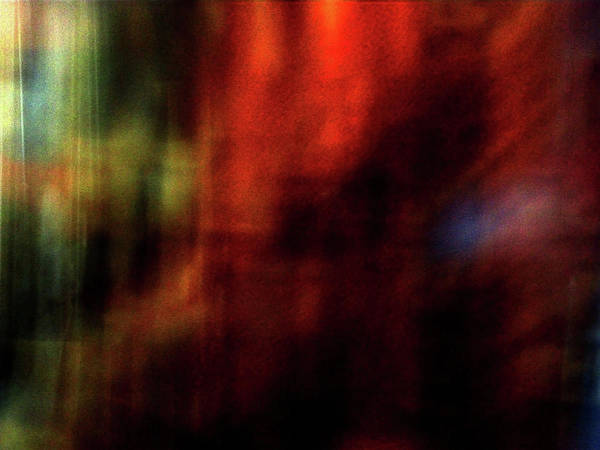 Abstract Art Print featuring the photograph Abstract Red 1 by ShaddowCat Arts - Sherry