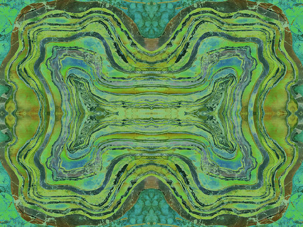 Agates Art Print featuring the tapestry - textile Agate Inspiration - 24 B by Sue Duda