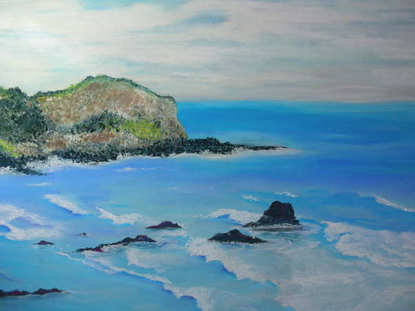 Hawaii Art Print featuring the painting Aloha by Melinda Etzold