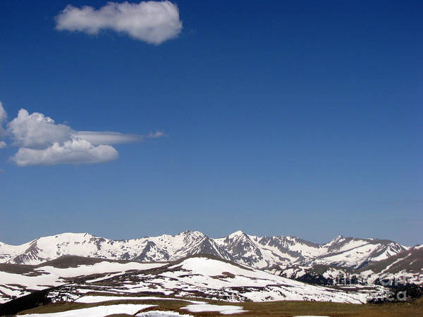 Mountains Art Print featuring the photograph Alpine Tundra Series by Amanda Barcon