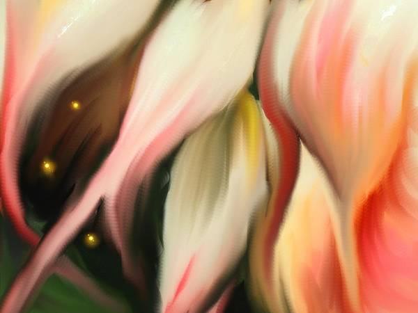 Abstract Art Print featuring the digital art Alternative Dimension by Ian MacDonald
