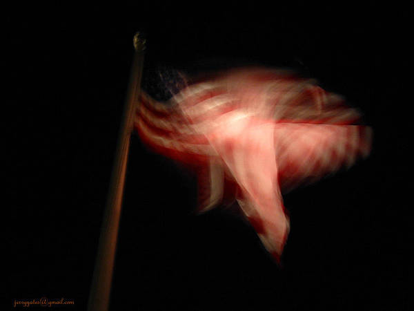 Flag Art Print featuring the photograph American Flag by Gerard Yates
