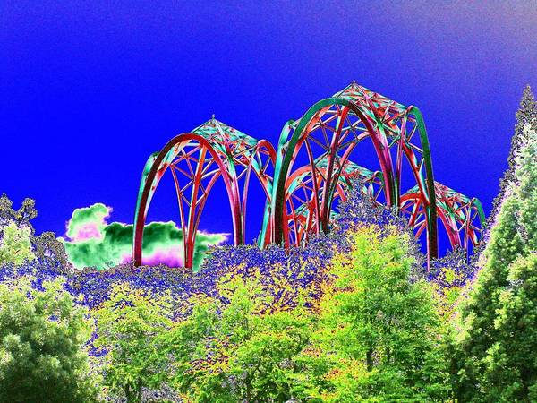 Seattle Art Print featuring the photograph Arches 6 by Tim Allen