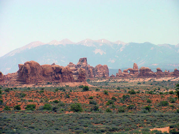 Arches National Park Art Print featuring the photograph Arches National Park 19 by Dawn Amber Hood