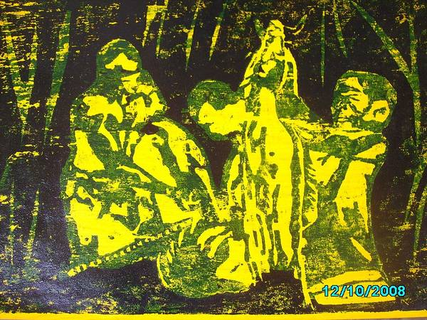 Festival Art Print featuring the mixed media Argungun Festival 2 by Olaoluwa Smith