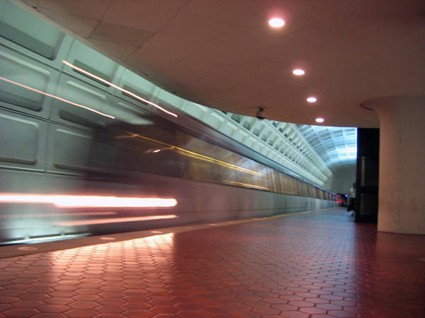 Metro Art Print featuring the photograph Arriving by Sean Owens