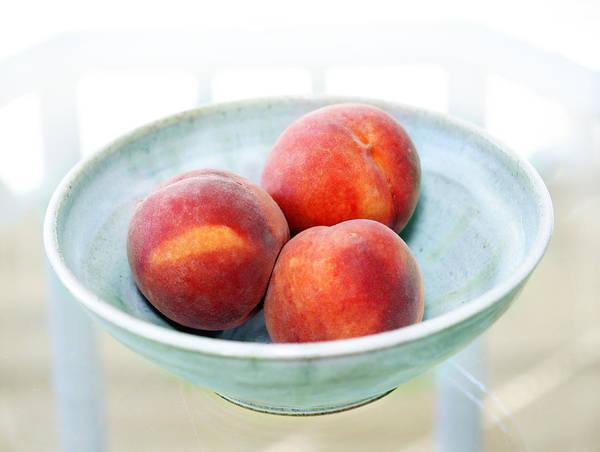 Peaches Art Print featuring the photograph Autumn Peaches by Marilyn Hunt