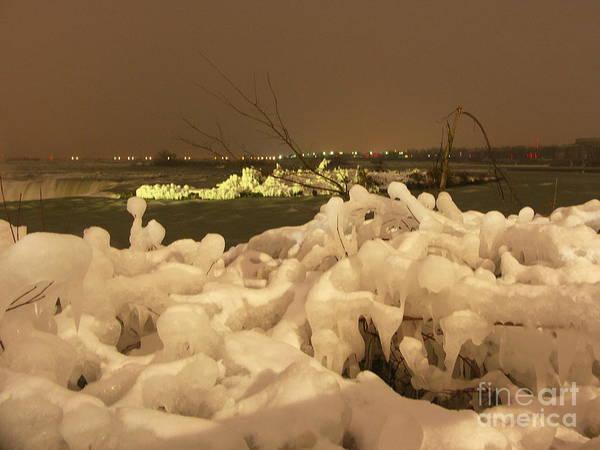 Ice Art Print featuring the photograph Beauty In Nature by Deborah Selib-Haig DMacq
