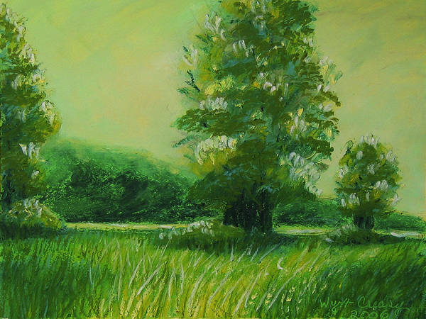 Series Art Print featuring the painting Big Otter Creek - High Noon by Wynn Creasy