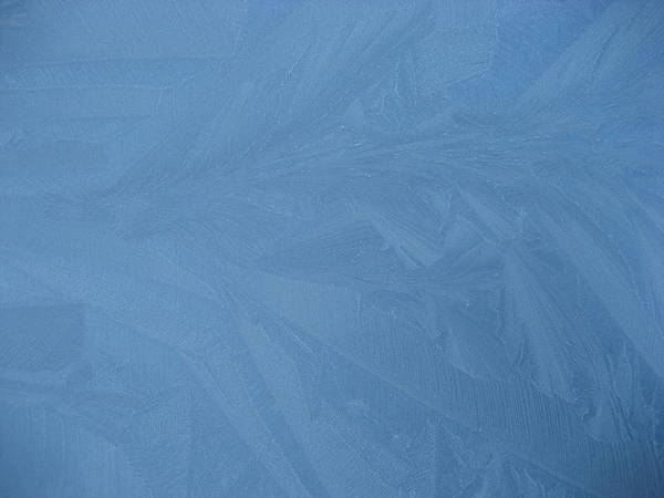 Blue Art Print featuring the photograph Blue Frost 2 by Paolo Marini