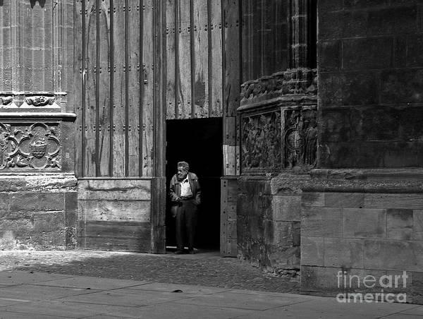Bordeaux Art Print featuring the photograph Bordeaux Church Door by Thomas Marchessault