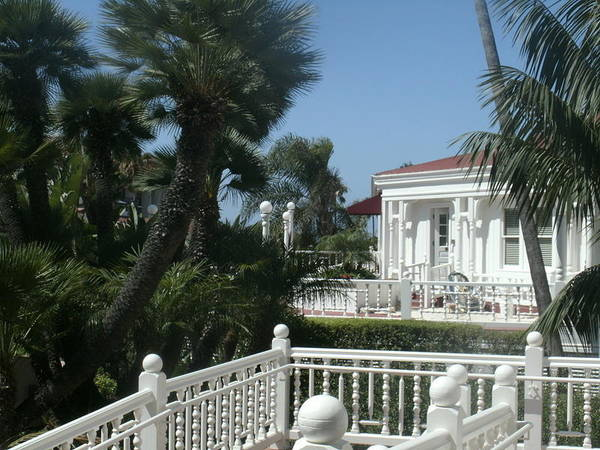Art Print featuring the photograph California Balcony by Jacqueline Manos