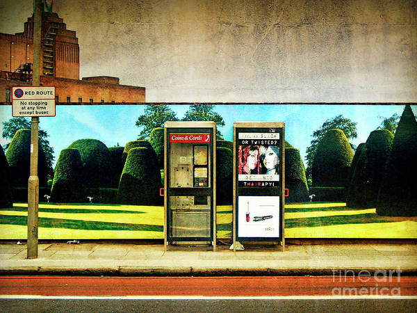 Battersea Art Print featuring the photograph Call Me by Richard Allen