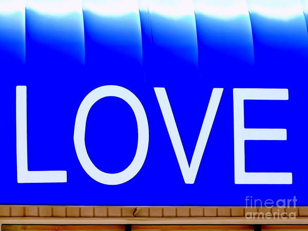 Love Art Print featuring the photograph Canopy Of Love by Ed Weidman