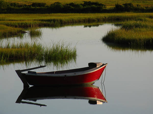 Solitude Art Print featuring the photograph Cape Cod Photography by Juergen Roth