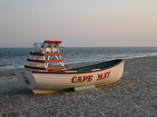 Cape Art Print featuring the photograph Cape May Calm by Gordon Beck