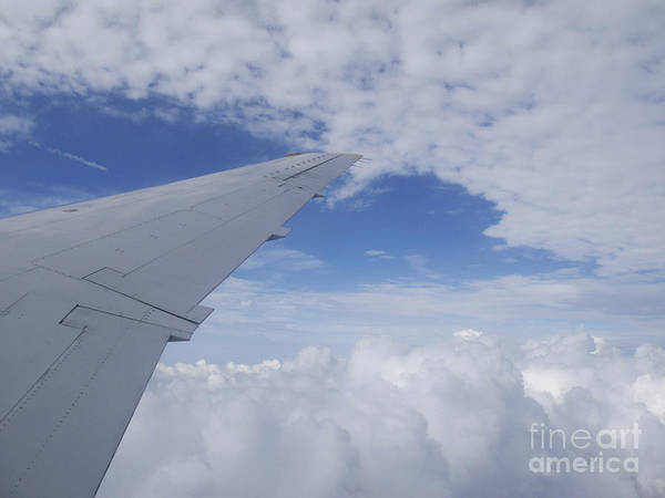 Clouds Art Print featuring the photograph Carefree by Ann Horn