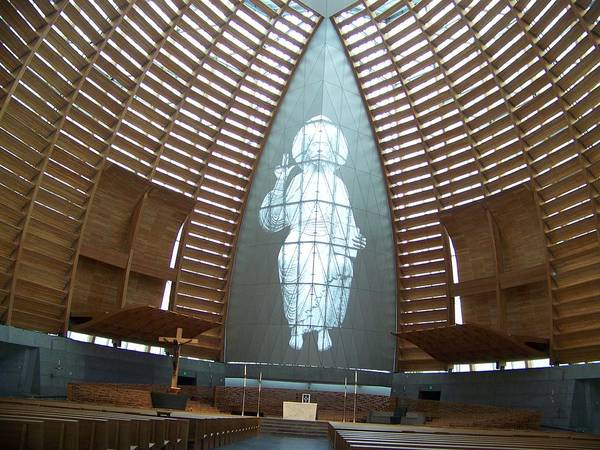 Gods Hologram Art Print featuring the photograph Cathedral Of Light by Maggie Cruser
